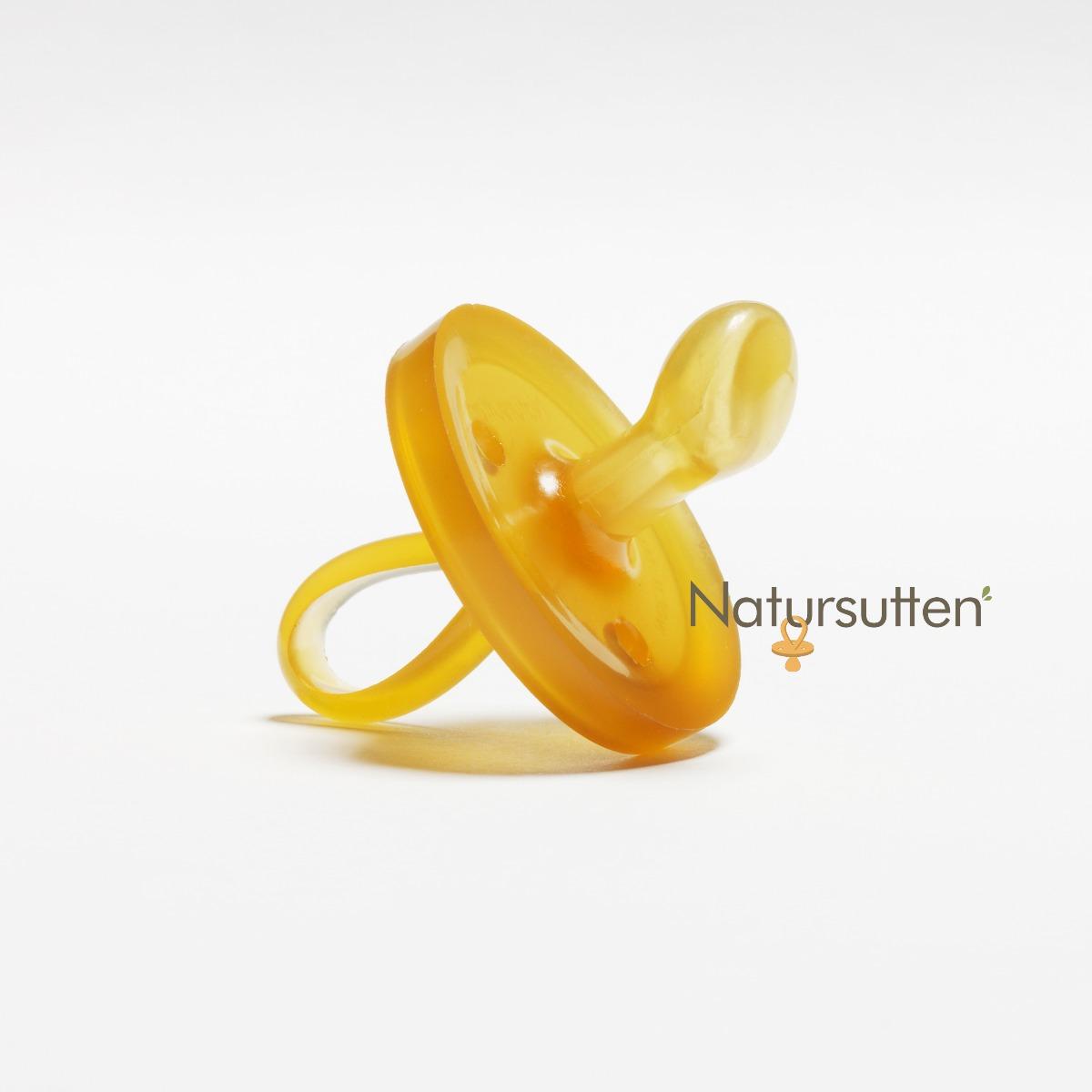 Natursutten Natural Orthodontic Rubber Pacifier 0-6M - Original Shape