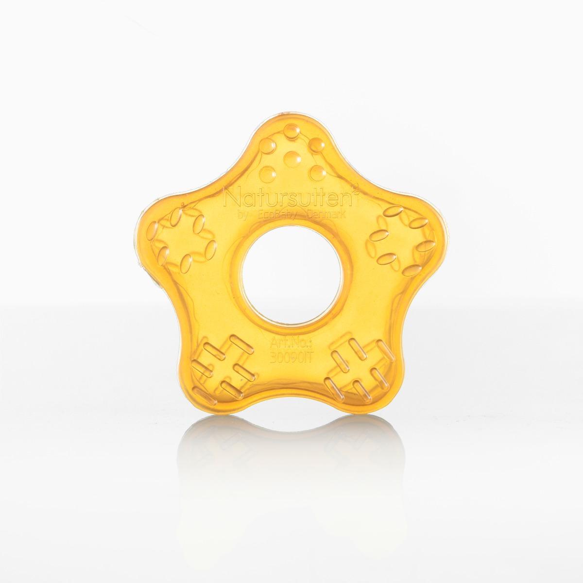 Natursutten Natural Rubber Teether Toy - Starfish