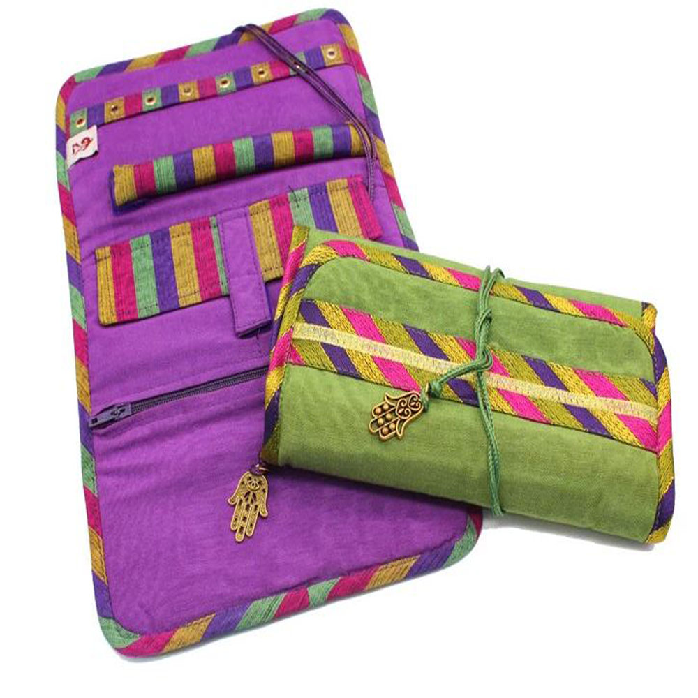 Colourful Jewellery Pouch