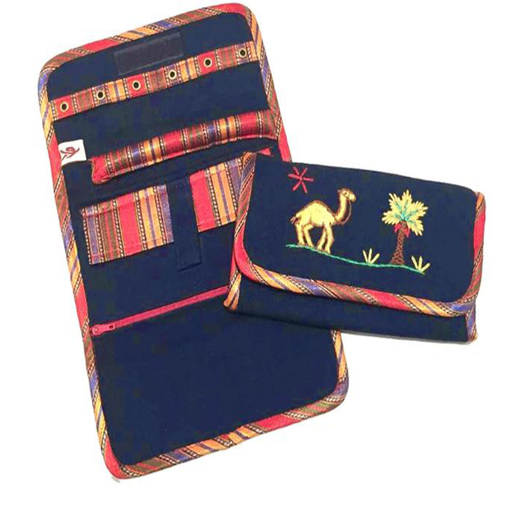 Jewellery Pouch Embroidered