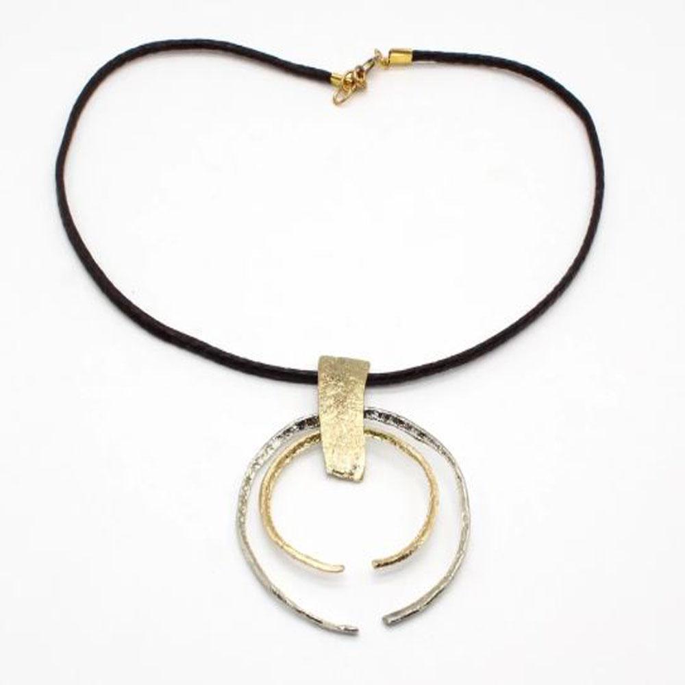 Solid Bronze Necklace