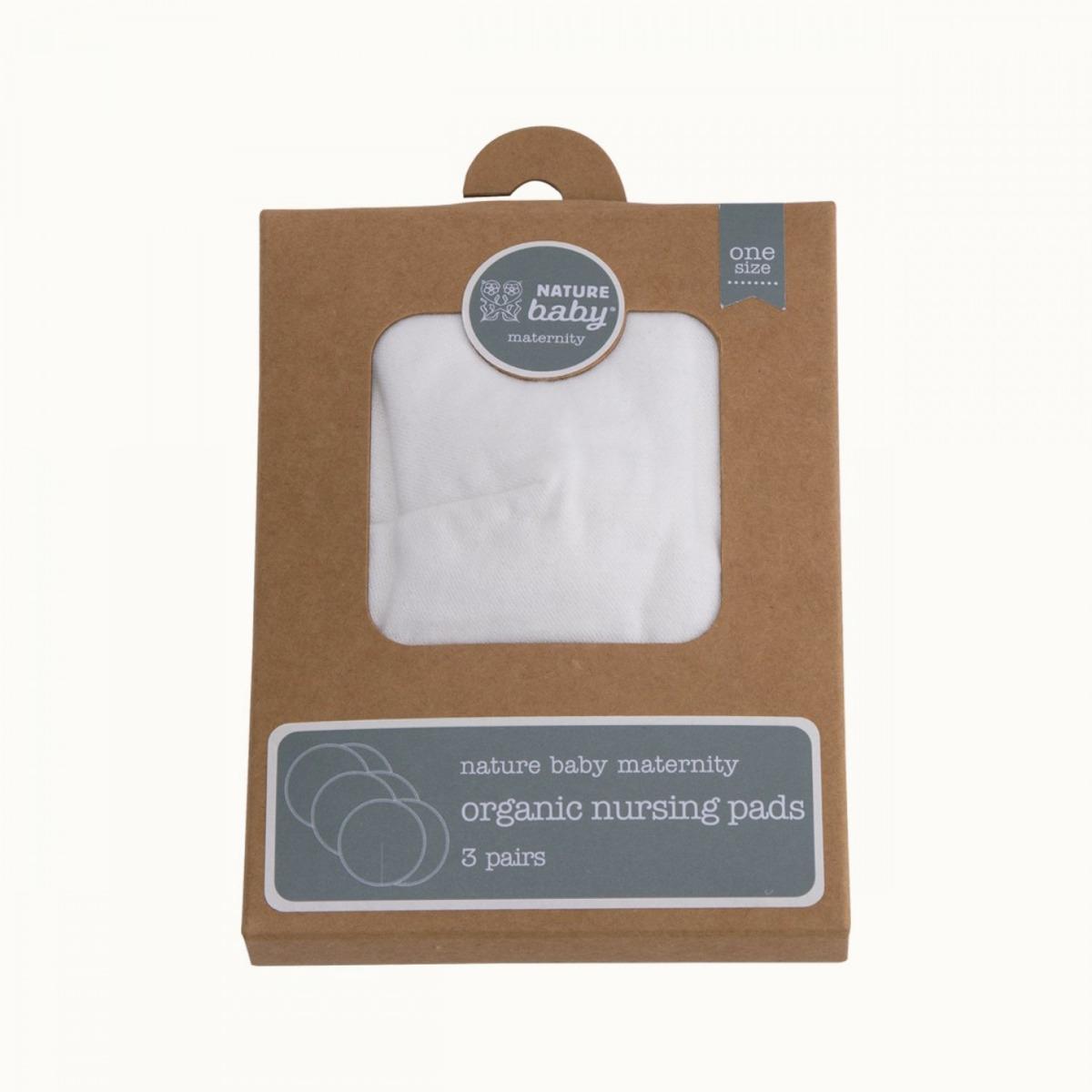 Nature BabyOrganic Nursing Pads - 3 Pack