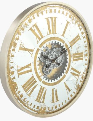 Pendragon wall clock dia 78cm  Gold