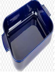 Appolia Rectangular Dish 40cm Blue