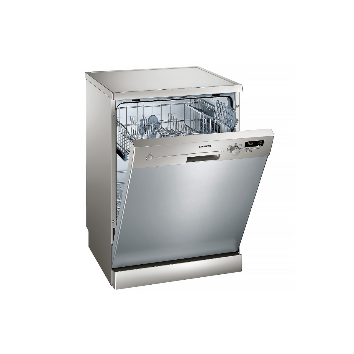 SIEMENS IQ300 SN25D800GC DISHWASHER (12 PLACE SETTINGS, SILVER INOX)