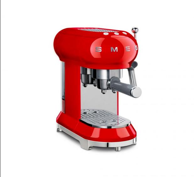 Coffee Machine Espr 50S Retro Red