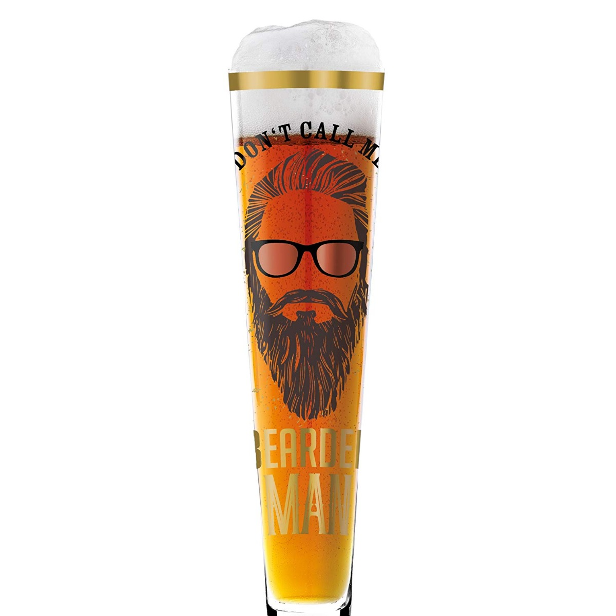 Pilsner Glass Wilson Beard