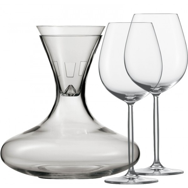 Decanter set Diva, 4 pcs