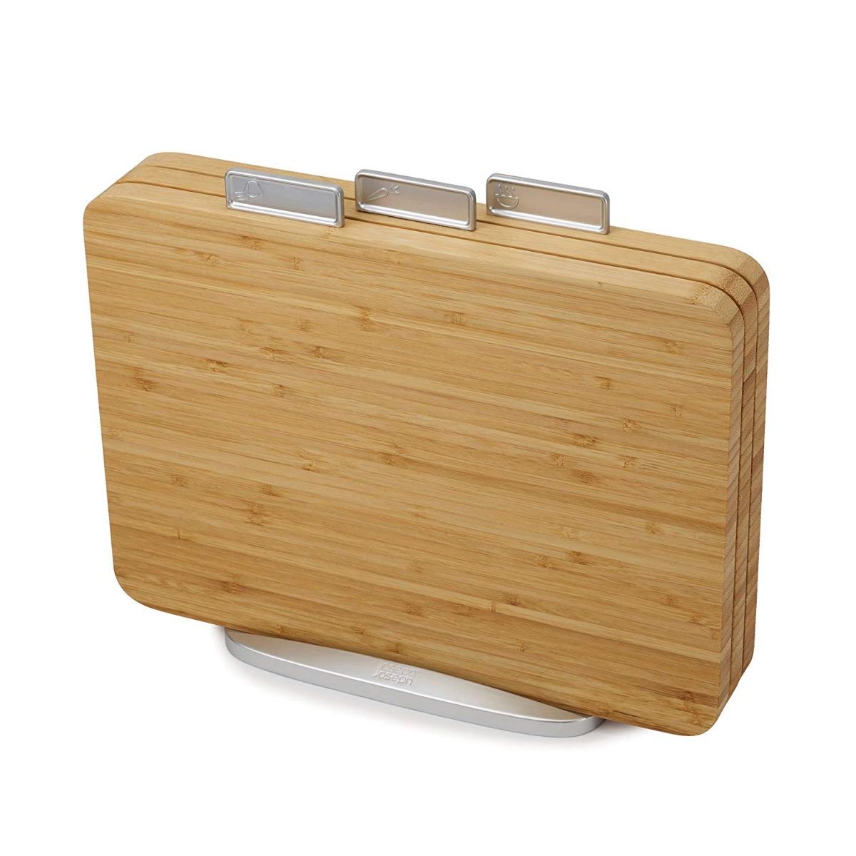 Index Chopping Board Set Bamboo