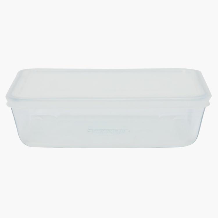 Pyrex Rect. dish with plastic lid 22x17cm-1.5Ltr