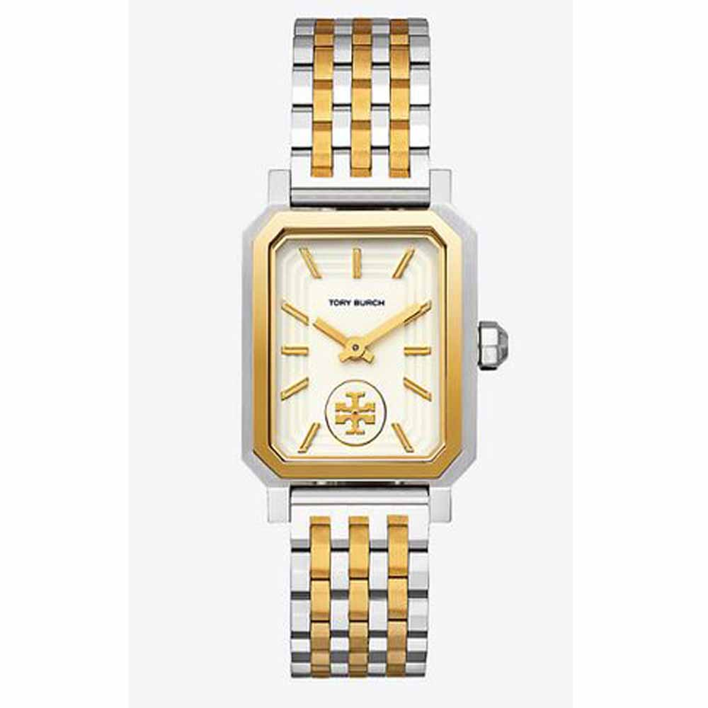 Robinson Watch, Two-Tone Gold/Stainless Steel/Cream