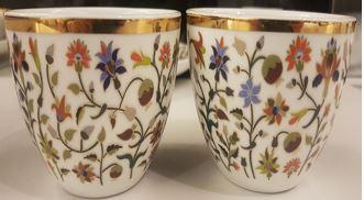 Floral Condiment Bowls