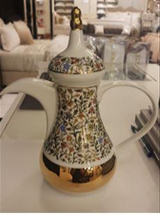 Floral Arabic Coffee Dallah