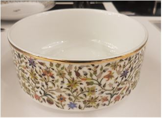 Floral Small Cylinder Bowl