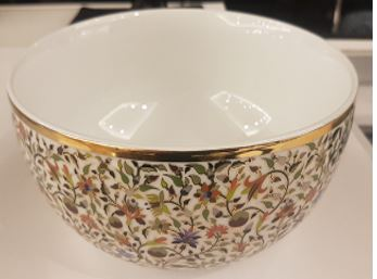 Floral Small Salad Bowl
