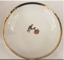 Floral Soup Bowl