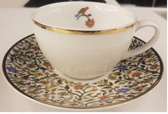 Floral Teacup + Saucer