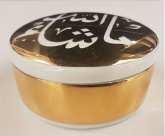 Mashallah Trinket Box Gold