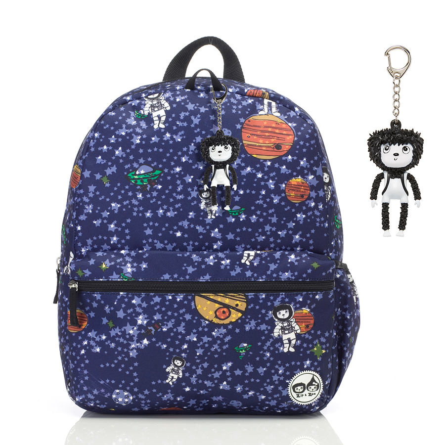 Zip and Zoe Junior Kid's Backpack (4-9Y) Spaceman