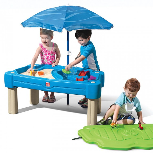 Step 2 Cascading Cove Sand And Water Table