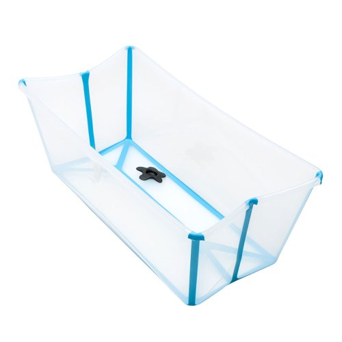 Stokke Flexi Bath with Newborn Support Transparent Blue