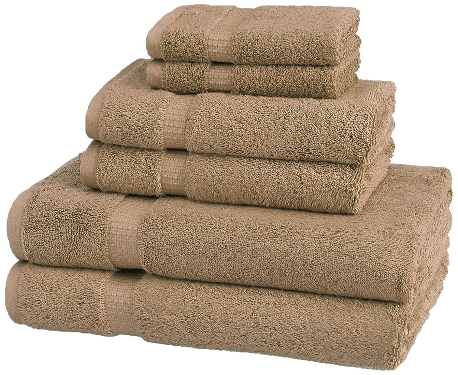 Supperfile collection - Hand towel taupe 40x75
