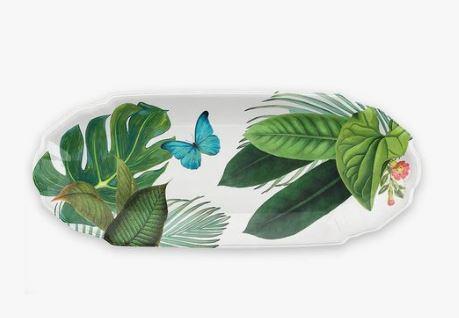 Tar Hong Amazon Floral Melamine Appetizer Tray