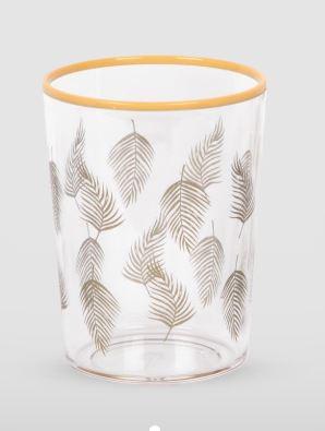 Tarhong Tropical Leaf  Print Tumbler