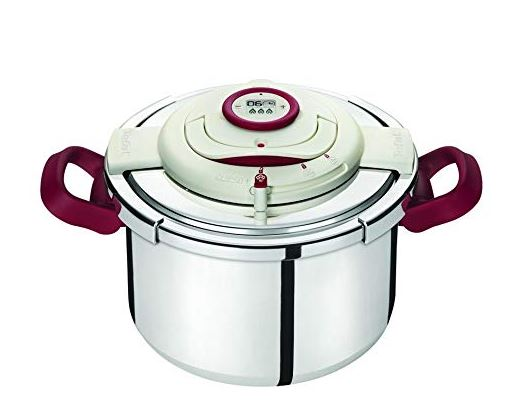 Tefal Pressure Cooker Clipso Precision 10L With Fry