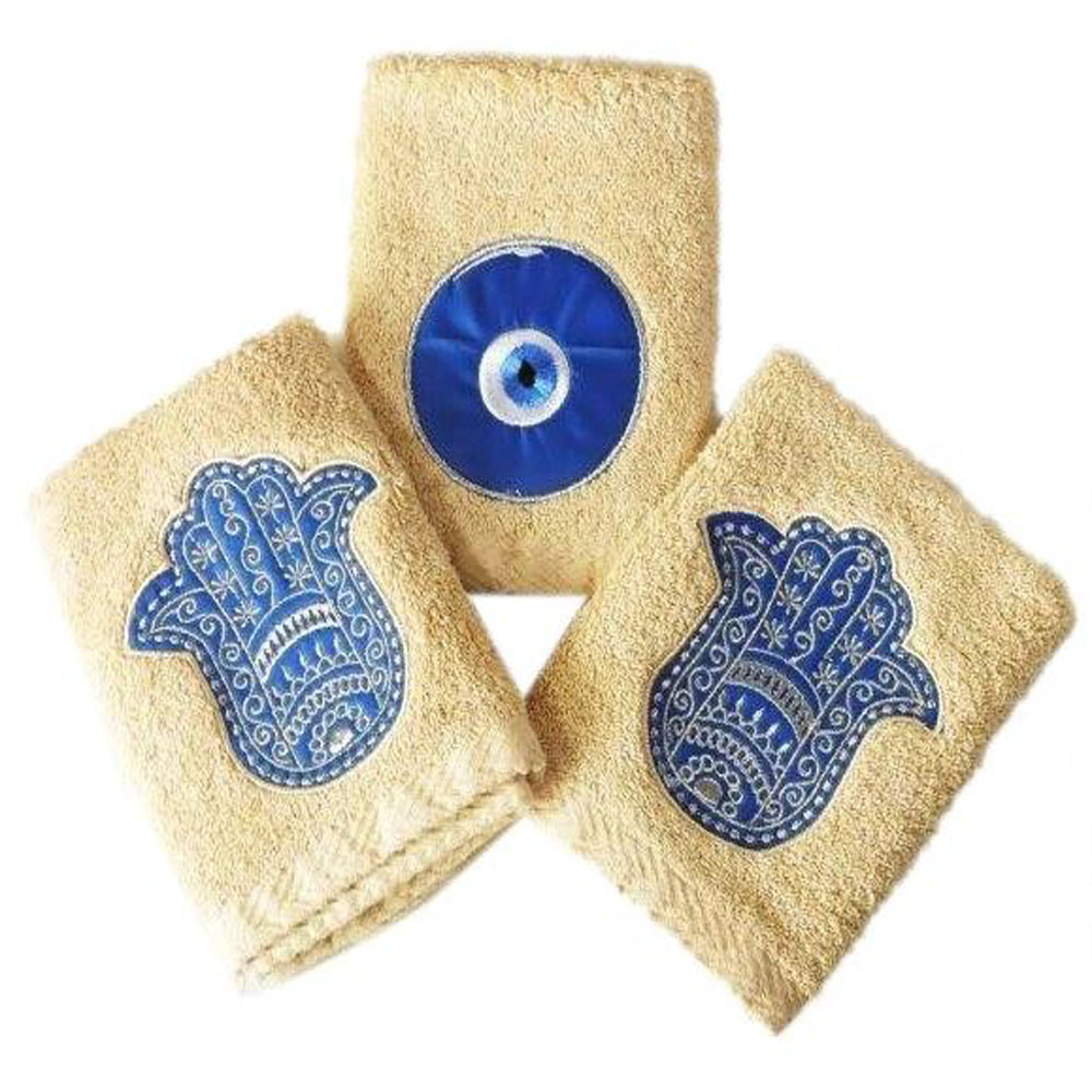 Guest Towels Set of 3 Kaff and Eye