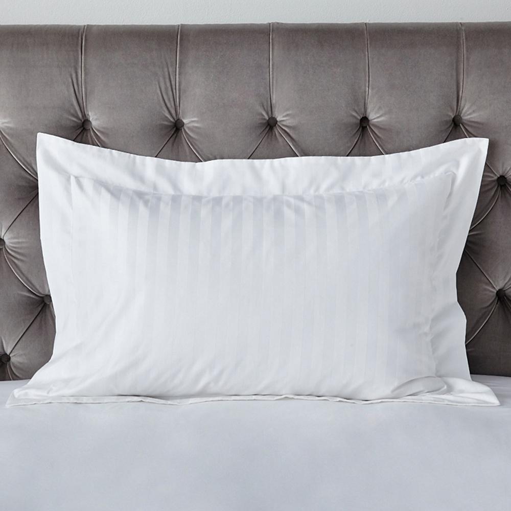 Cambridge Stripe Bed Linen Oxford Pillowcase with Border – SK