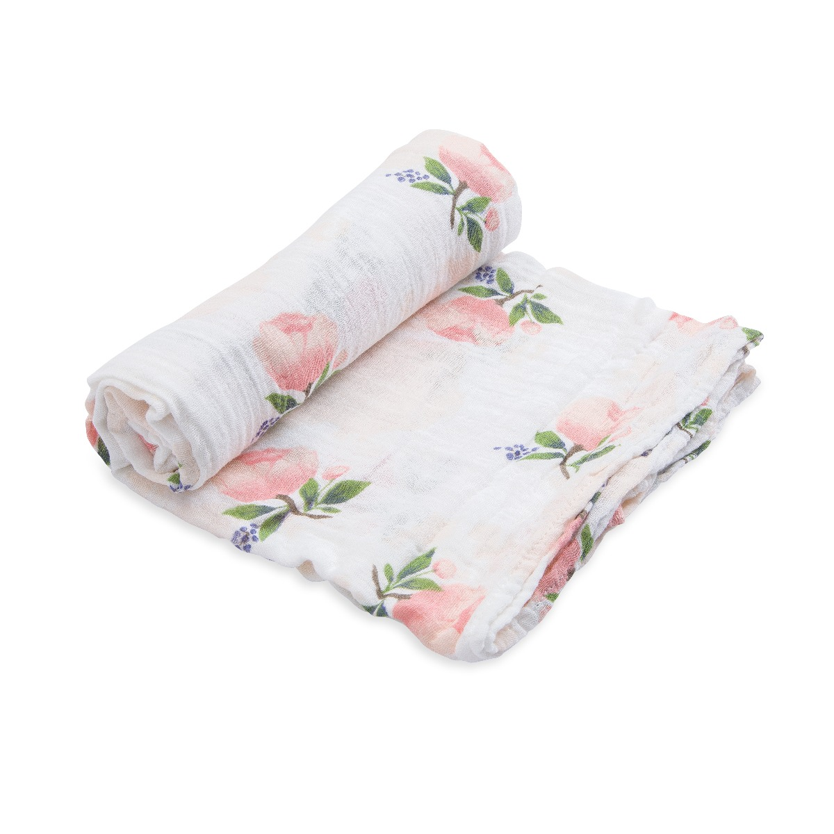 Little Unicorn Cotton Muslin Swaddle Water Color Rose