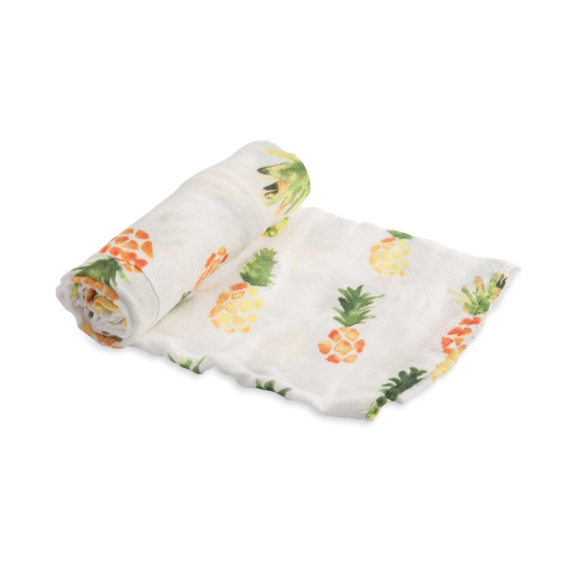 Llittle Unicorn Deluxe Swaddle Pineapple