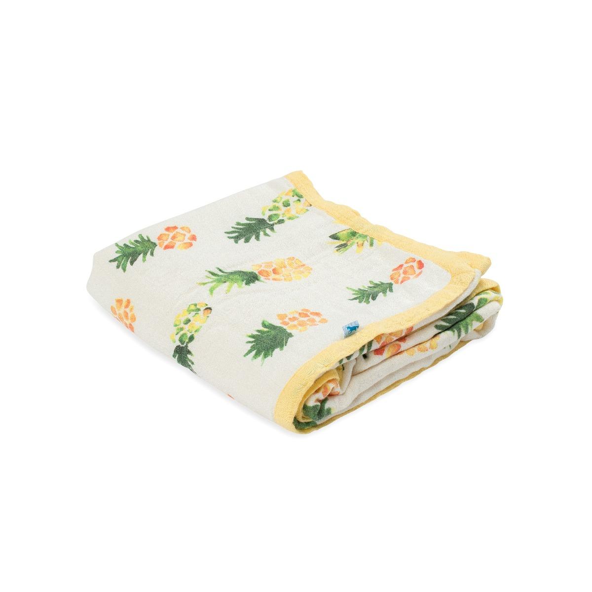 Little Unicorn Deluxe Muslin Quilt Pineapple