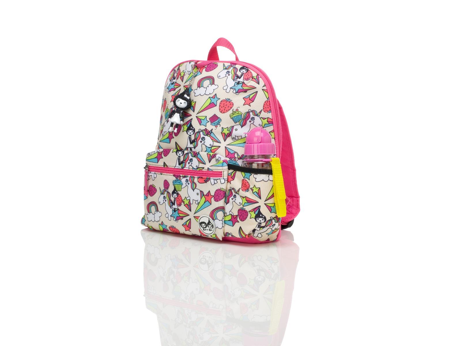 Zip and Zoe Midi Kid's Backpack (3-7Y) Unicorn
