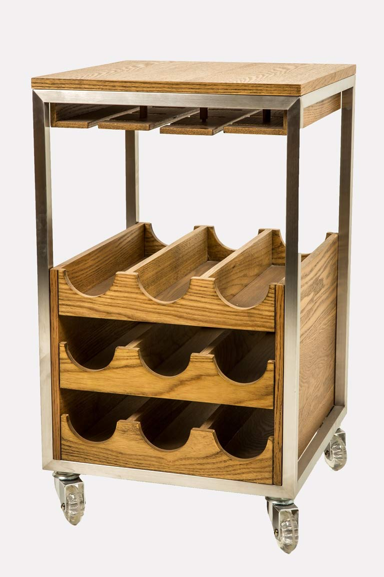 Vinium Glassware Rack With Casters