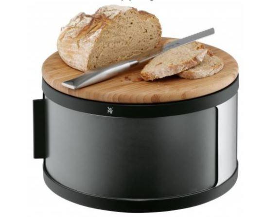 Bread Bin w/ chopping board Round