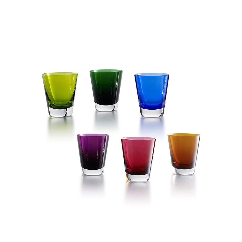 Baccarat Colored Glasses
